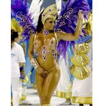 Videos: Carnival nude hot topless Rio Brazil Samba dancer Street Party