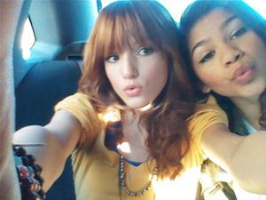 Bella Thorne And Zendaya Coleman KTLA Interview ~ DISNEY STAR UNIVERSE
