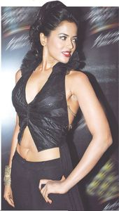 Sameera Reddy Hot Navel Show For Latest Magazine Scan