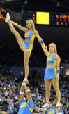 College Cheerleader Heaven: UCLA Cheerleaders Are Flexible