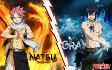 Wallpapers Otaku: Fairy Tail  Natsu e Gray 01