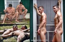 For The Love Of Man: Sexy Naked Gay Twin Brothers