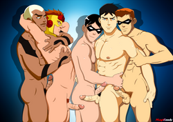 superboy and red arrow who s the hottest have a great summer everyone