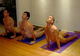 Naked Yoga Would You?