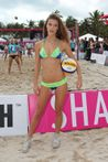 gridblogger: Nina Agdal � Model Beach Volleyball event on Miami