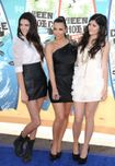 Kendall and Kylie Jenner were onhand at the Gibson Amphitheatre for
