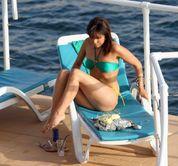 Roxanne Pallett Bikini Candids
