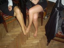 Pantyhose if you're American): Some from qualitycandidpantyhose