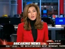 Chris Jansing very hot milf American newsreader of MSNBC