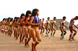??????? ? ???? Xingu / Indians from Xingu River (Nudism