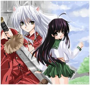 This one is for Inuyasha and Kagome, love is a game of life - 9999