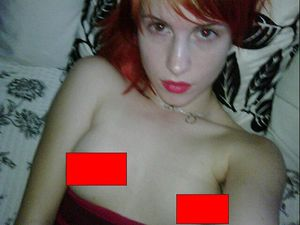 Paramore's Hayley Williams Nude Twitpic photos