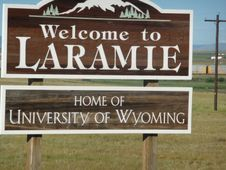 LARAMIE, WYOMING  WELCOME