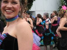 Miki Madness: Fremont Solstice Parade + Naked Bike Ride, Seattle