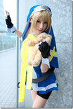 this is bridget from guilty gear x i just found this picture while