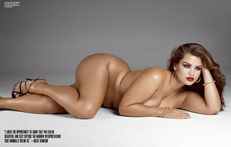 The Glamour Girl Mob: V Magazine+Plus Size Models= Hot!