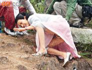 top hongkong tvb actress jessica hsuan s pubic hair exposed when she