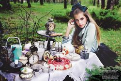 Alice in Wonderland' Fashion Photoshoot ( http://www vintagemint com