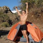 Homo, Erect Us: Pitch a Tent and Go Camping!