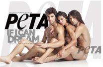 Justin Gaston SIN ROPA para PETA  fotos