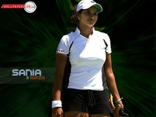 Amazing Lovely Wallpapers: sania mirza blue film