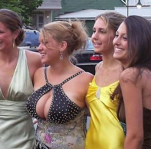 Busty Girls Making Their Friends Invisible ~ Damn Cool Pictures