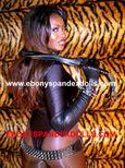 KinkyBitches.xxx: LIZABETHSTUNNING EBONY SPANDEX DOLL
