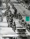Nostalgia on Wheels: 1968 Hells Angels Funeral Procession Photo