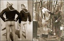 For The Love Of Man: Vintage Photos Of Naked Military Men
