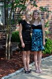 ARMY BRATS AND ME: 8th grade formalAlexa and her friend