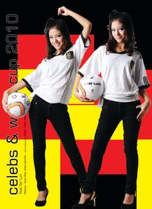 : Myanmar Hot Model, Twal Tar Lun and Ei Chaw Po's World Cup Fashion