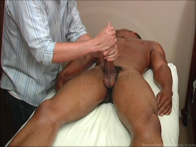 Penis Massage Turns Into Masturbation