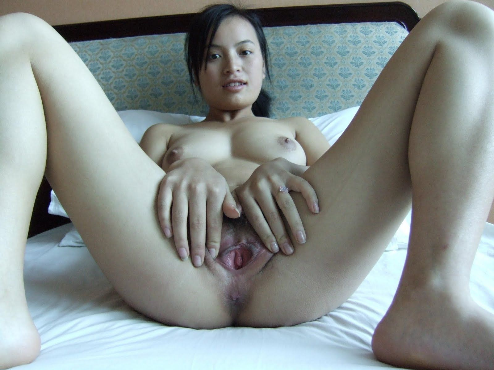 Horny Asian Gets Fucked Close Up