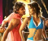 Hrithik Roshan and Aishwarya Rai in Dhoom:2