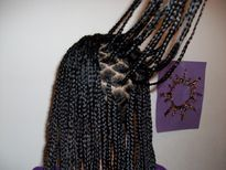 Tweeny Hair: Small Box Braids