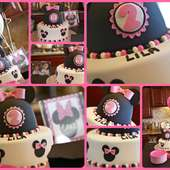 Gentrys-Party Of Four: Lila's 2nd Birthday Party: Minnie Mouse Style