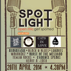 Music Speaks Louder Than Words: Spotlight Open Mic