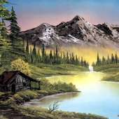 Things Sweet B: Portland Gallery Pays Homage To TV Painter Bob Ross