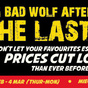 Big Bad Wolf Aftermath Sale: The Last Hunt 2013