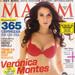 Mes De Abril Del 2012 Que En La Portada Presenta A Verónica Montes