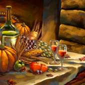 Free Download 2012 Thanksgiving Day Widescreen Wallpaper 1280*800