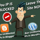 Tutorial block IP address visitor untuk Blogspot