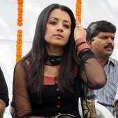 Tollywood_Kollywood Actress Trisha Black Dress Hot And Spicy Photos 28