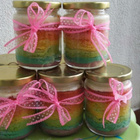 Rainbow Cake in Jar |HoneyzDelights