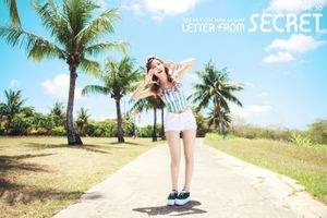Secret Letter From Secret Wallpaper HD | Beautiful Song Lyrics