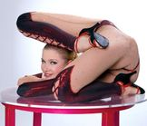 Meet Zlata  the world's most flexible woman. Here some amazing photo