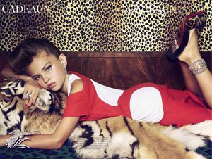 OMFG! Ten Year old Model Thylane Lena Rose Blondeau