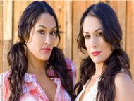 Bella Twins Nikki & Brie Bella Girls of Maxim The WWE's identicaltwin