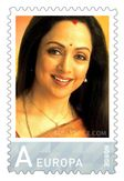 Setenant Stamps of India: Stamp on Hema Malini by Norway