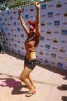 Sofia Hayat Holi Celebrations Hot Photo Gallery   Cinemayam